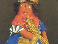 Trinidad Costume Doll- Unknown Maker