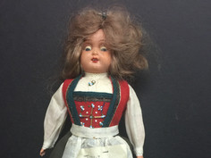"""Hardanger Girl"" Doll- Possibly Ronnaug Petterssen"