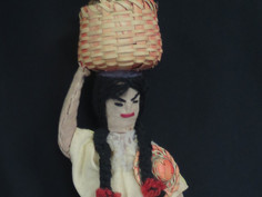 Nicaragua  Costume Doll- Unknown Maker