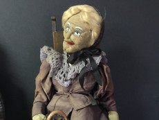 Stockinette Doll- Possibly made by Bernard Ravca