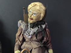 Italian Stockinette Doll- Maker Possibly Bernard Ravca