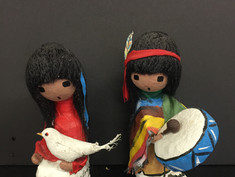 Southwestern Native America Dolls- Ted DeGrazia