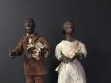 African American Couple- Unknown Maker