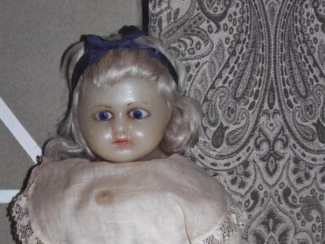 """20"""" Reinforced Wax Doll- Unknown Maker"""