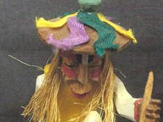Wooden Figurine- Unknown Maker