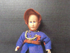 French Costume Doll- Unknown Maker