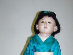 """22"""" Ichimatsu Japanese Doll- Unknown Maker"""