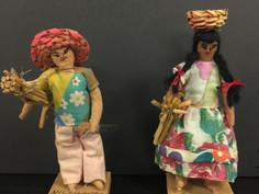 Nicaragua Costume Dolls- Unknown Maker