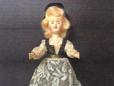 Italian Costume Doll- Unknown Maker