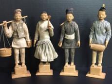 """7"""" Nepalese Dolls- Maker Unknown"""