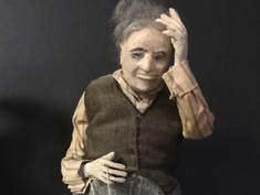 Folk Doll-by Mrs E. T. Ritchey For Kimport Doll Co.