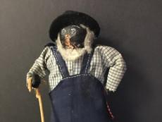 Folk Art Doll- Unknown Maker