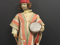 Argentina Costume Doll- Unknown Maker