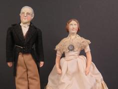 Millard and Abigail Fillmore