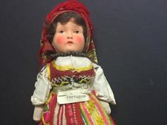 Lavradeira Folk Costume of Portugal- Unknown Maker