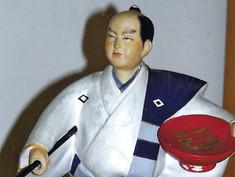 Japanese Samurai Figurine- Unknown Maker