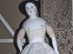 Flat-Top China Head Doll- Maker Unknown