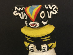 Skyking Kachina Doll- Unknown Maker