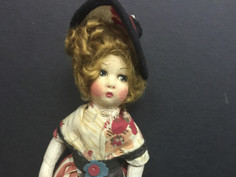 Costume Doll- Possibly by Lenci