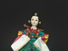 Korean Doll- Unknown Maker