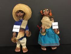 Mexican Folk Art Dolls - Unknown Maker