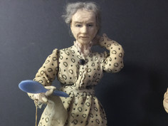 Folk Doll- by Mrs E. T. Ritchey for Kimport Doll Co.
