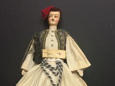 Greek Tsolias Doll- Unknown Maker