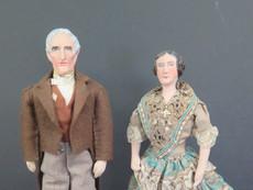 John and Letitia Tyler
