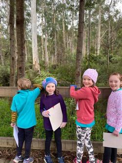 Orienteering at Maroondah dam