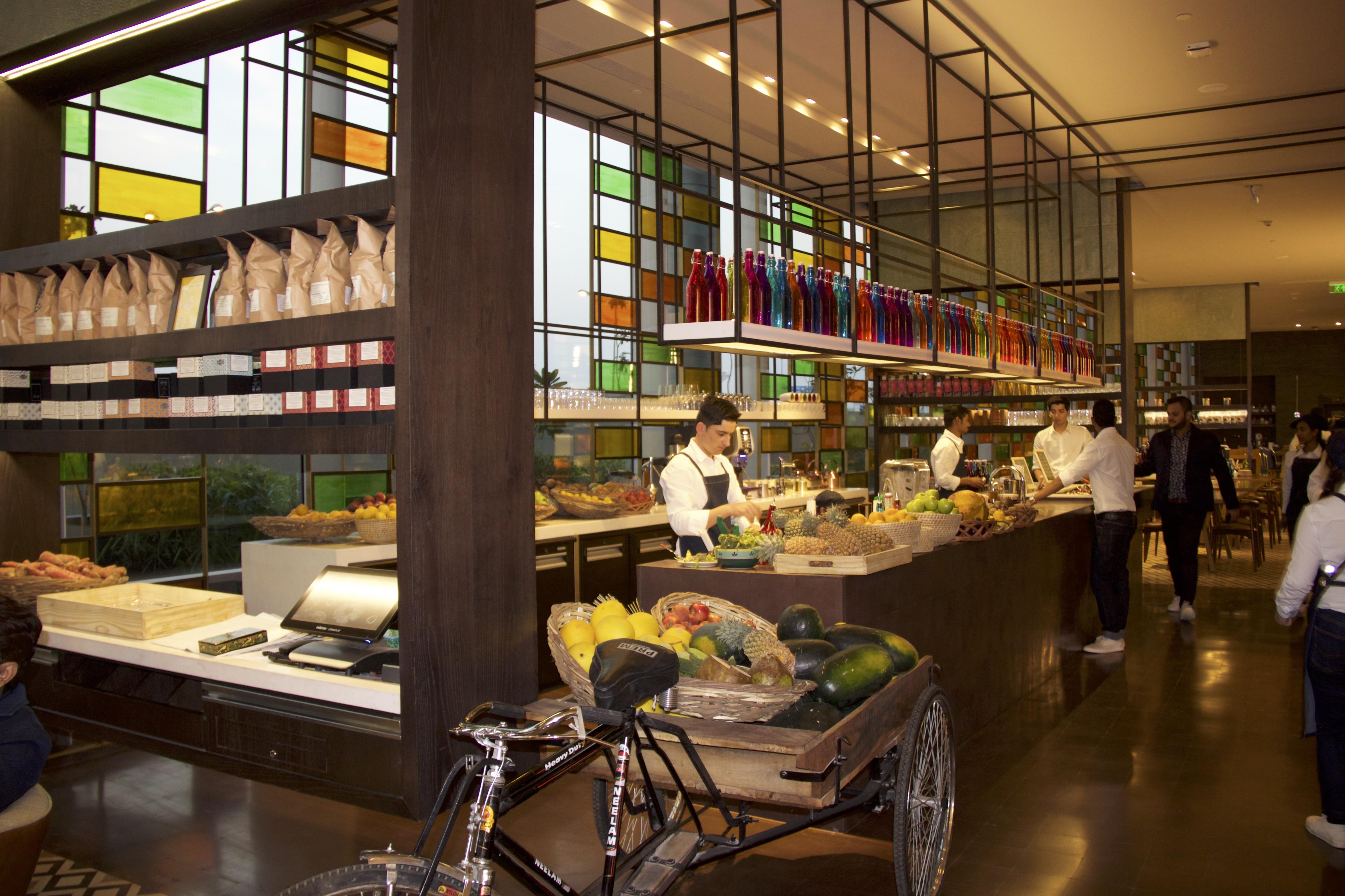 Open Kitchen at AnnaMaya
