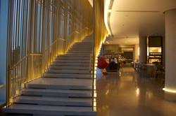 Stairway to Andaz Studios | Walkway