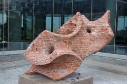 Double Helix Sculpture