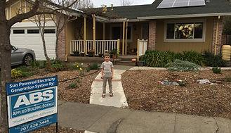ABS solar installation