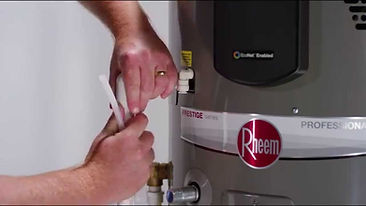 Domestic Hot Water Heater Installation