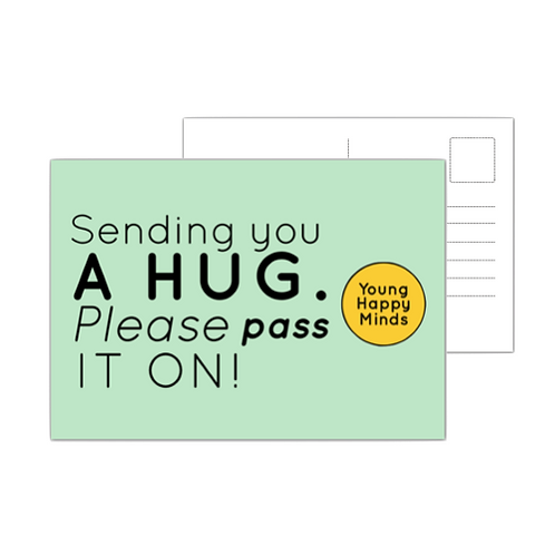 Hug in the mail - 10 Postcards