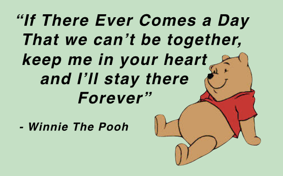 Learn to hack your own happiness, Young Happy Minds, Winnie The Pooh, quote, wise, love