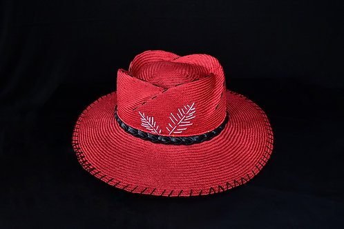 Rose Crown Straw hat
