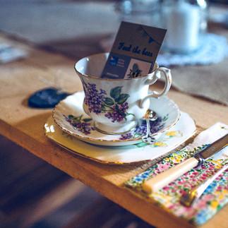 Trio (Teacup, Saucer & Tea Plate)