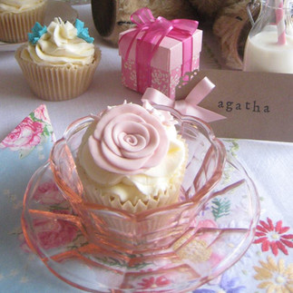 Small Glass Dishes (clear and pink available)