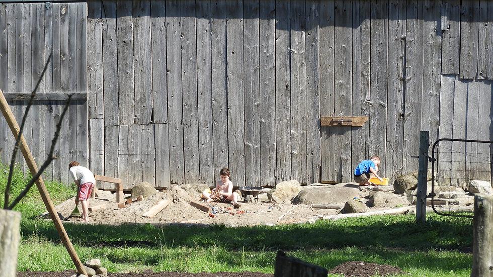 Outdoor Kids Play