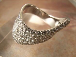 Ptダイヤモンドリング