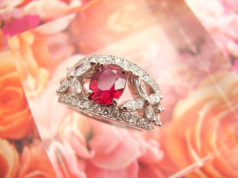 プラチナ900 ルビーダイヤモンド.2.JPG