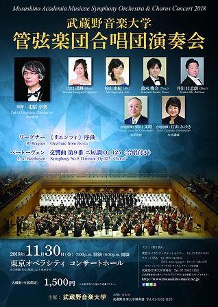 20181130武蔵野音大 管弦楽団合唱団演奏会