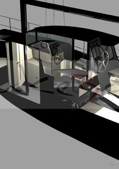 Colin Archer 30 Pilot house
