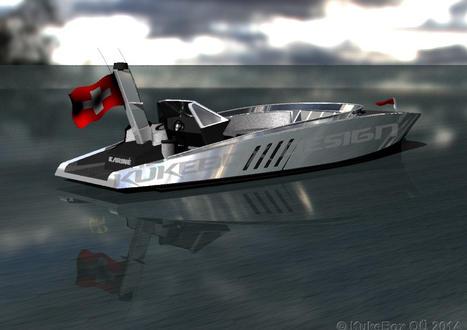 10-meter powerboat concept design