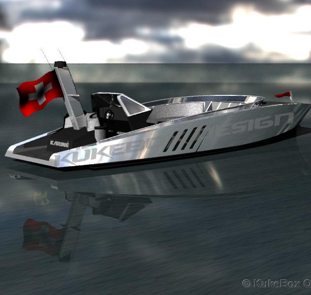 10-meter powerboat concept design