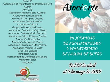VII Jornadas de Asociacionismo y Voluntariado. Ayto. Laguna de Duero