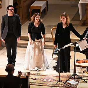 Trio with Reto and Polina