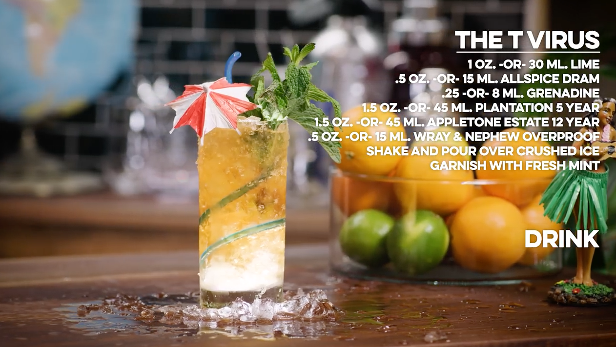 The T Virus Cocktail