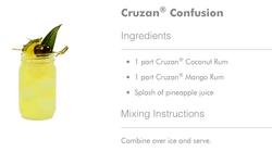 Cruzan Confusion Cocktail